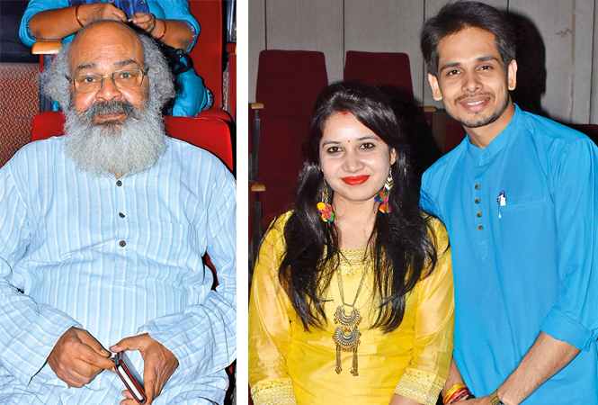 Surya Mohan Kushreshtha and Shilpi and Deepak Pandey (BCCL/ Vishnu Jaiswal)