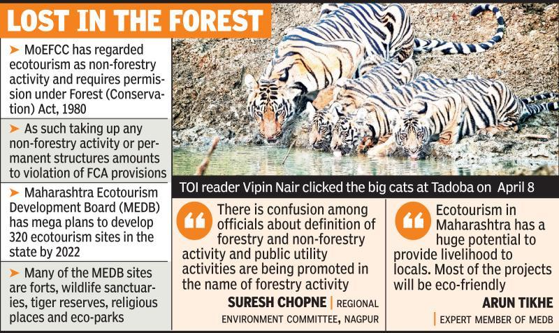 Ecotourism plans: Forest min, NTCA sound note of caution
