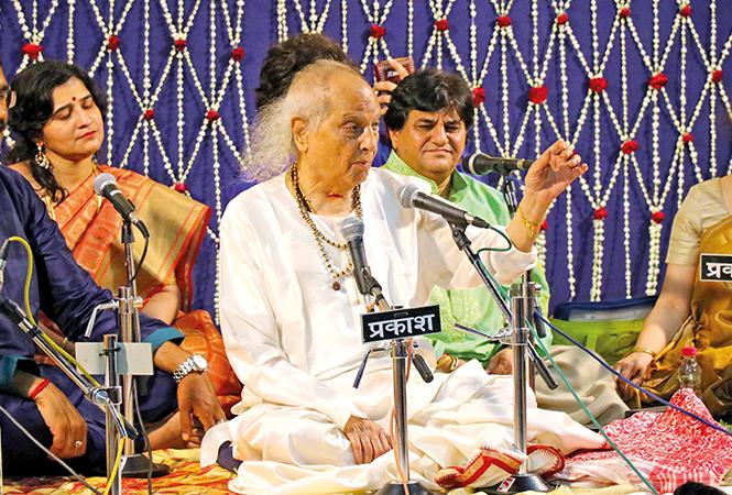 Pt Jasraj (BCCL/ Unmesh Pandey and Arvind Kumar)