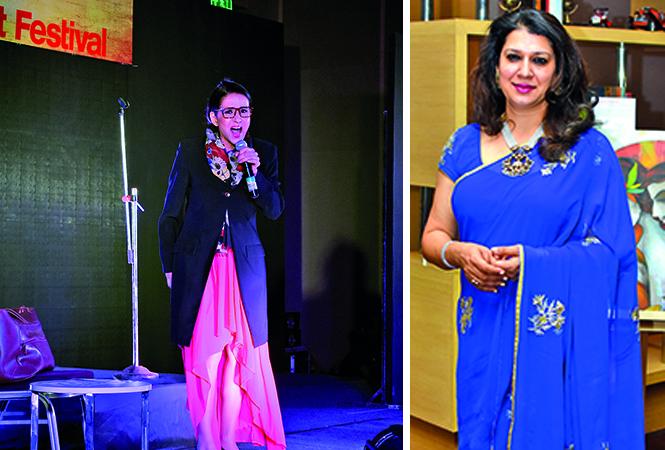 Sharon Prabhakar and Shikha Shukla (BCCL/ Farhan Ahmad Siddiqui)