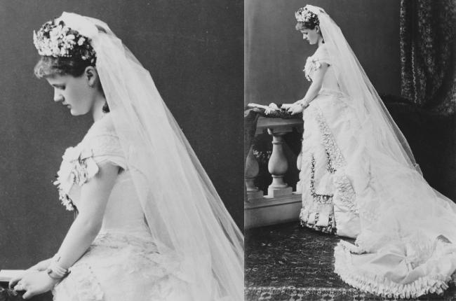 Princess Helena of Waldeck and Pyrmont wedding dress