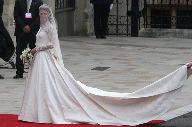 The Duchess of Cambridge wedding dress