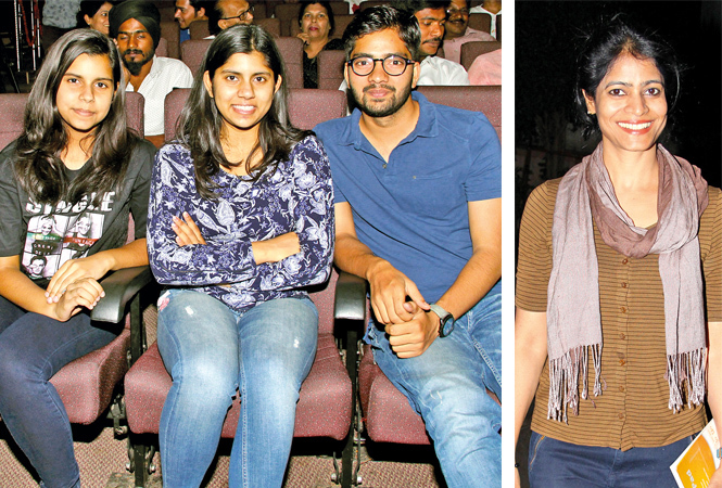(L) Sanvi, Shalmali and Aman (R) Seema (BCCL/ Aditya Yadav)