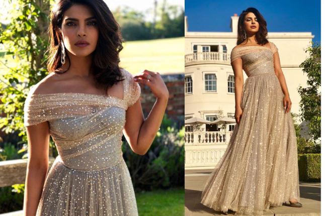 Priyanka Chopra Dior dress Royal Wedding
