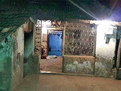 Victim's house in Parnala village of Limbdi, Surendranagar