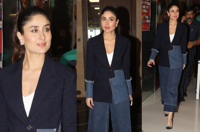 Kareena Kapoor's denim suit