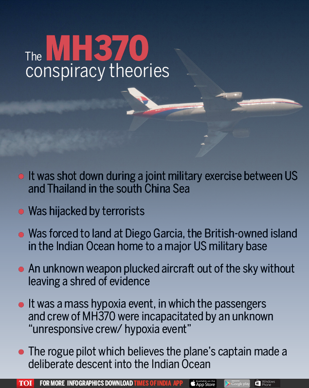 The MH370 conspiracy theories (1)