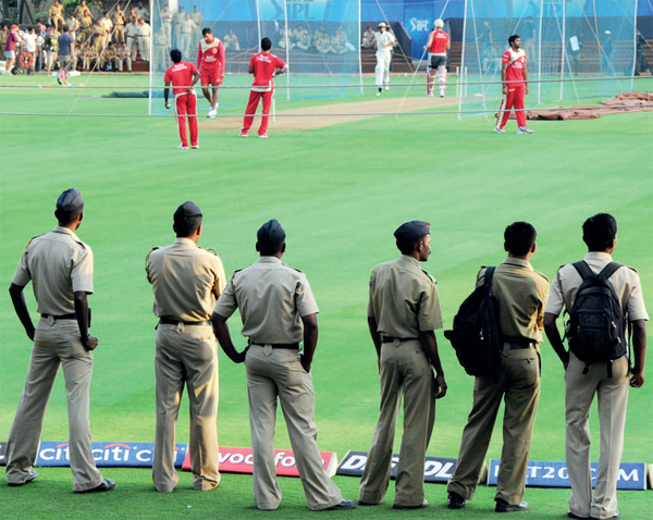 The Mumbai police charge Rs 80 lakh for securing an IPL match