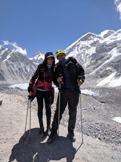 Deepa Bhat, Taher Merchant are the first Indians to complete 60km Everest marathon