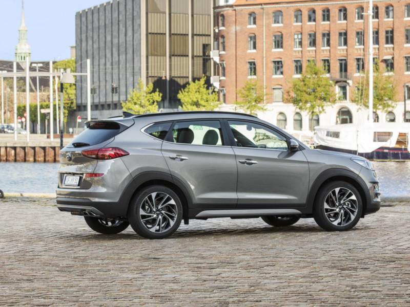 Hyundai: 2019 Hyundai Tucson Hybrid SUV unveiled for ...