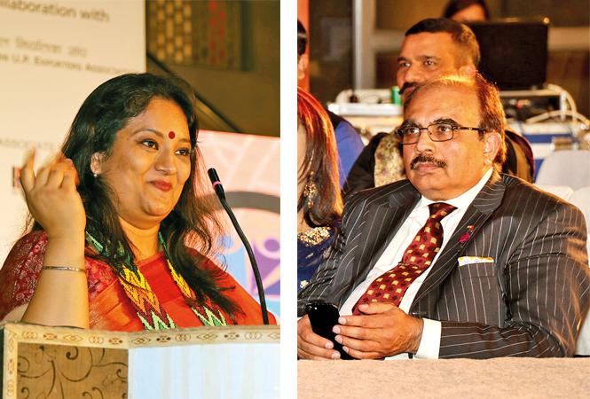 (L) Jas Kirat (R) Mahendra Jadeja (BCCL/ Unmesh Pandey)