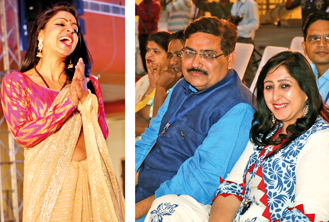 (L) Mansi (R) Naveen and Mohini Kapoor (BCCL/ Unmesh Pandey)