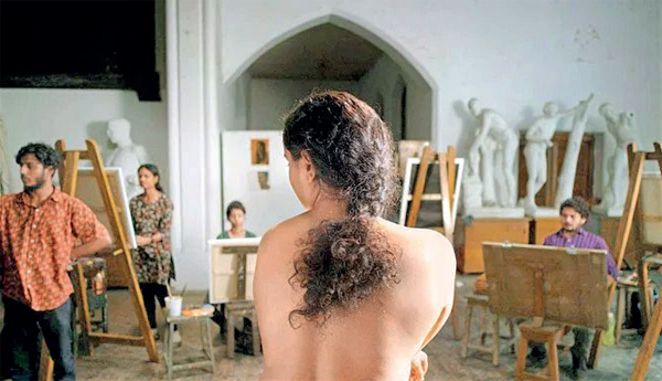Marathi film Nude is about a poor woman who takes up a job as a nude model at JJ School of Art