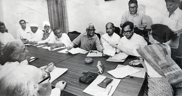 Under Indira Gandhi, Mukherjee's career reached its apogee when she chose him as her finance minister