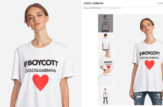 Dolce Gabbana Boycott