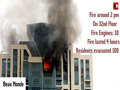 BeauMonde fire.