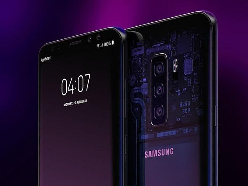 Samsung Galaxy S10 leaked render images hint at three rear