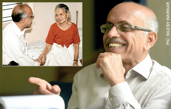 Dr Rajagopal founded the Pallium India Trust in Thiruvananthapuram in 2003
