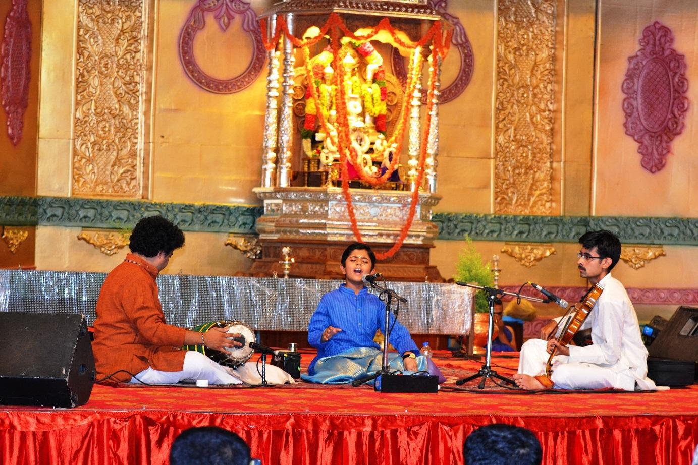 Rahul Vellal at a performance