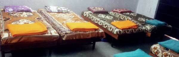 Beds, television and refrigerator gifted by donors for the old age home have already been placed at the premises allotted to them by AMC in Bhimjipura