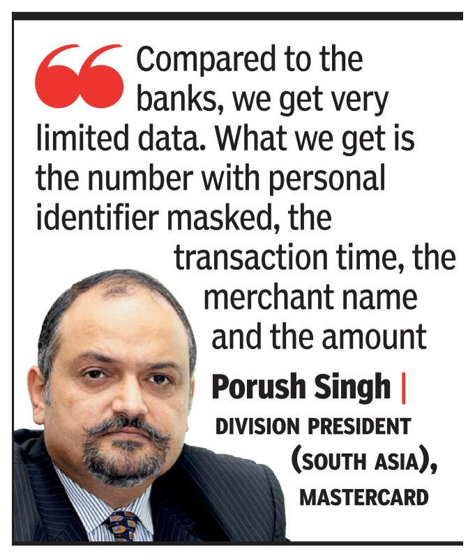 Mastercard seeks easier pay data storage norms