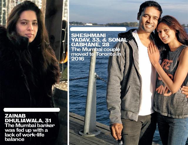 (L) Zainab Dhuliawala; (R) Sheshmani Yadav, & Sonal Gabhane