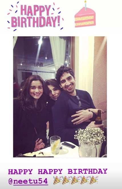 Photo Instagram Alia Bhatt