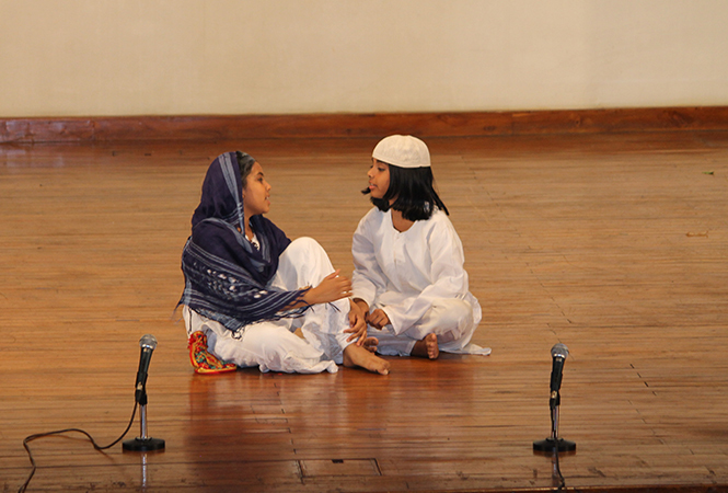 A scene from the play Idgah (BCCL)