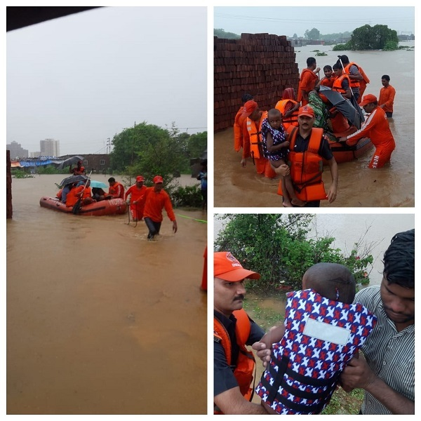 Rescue operations in Palghar