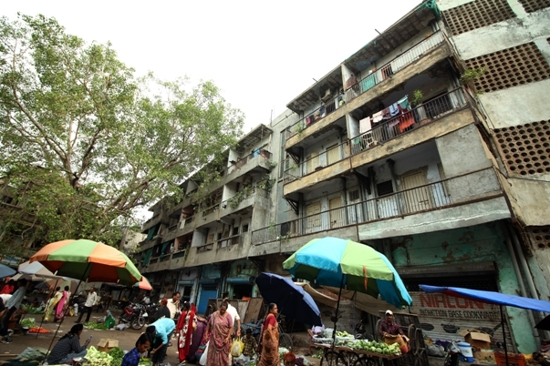 Danapith Fire Station houses 87 residential quarters in all