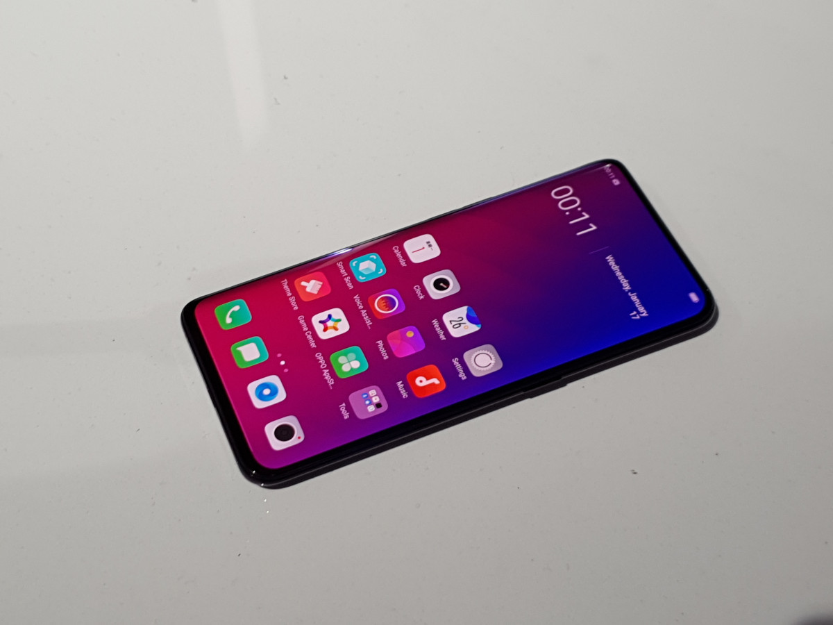 Oppo Find X first impressions: Fresh design is appealing