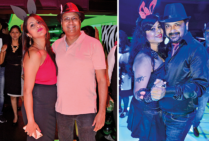 (L) Deepali and Adish (R) Kanchan and Nitin (BCCL/ IB Singh)