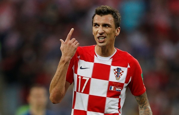 Mario Mandzukic of Croatia reacts during the match. Photo: Reuters