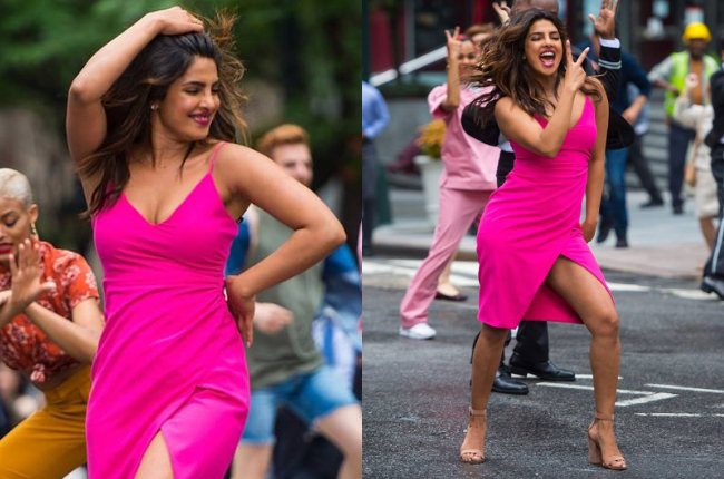 Priyanka Chopra sexy dress