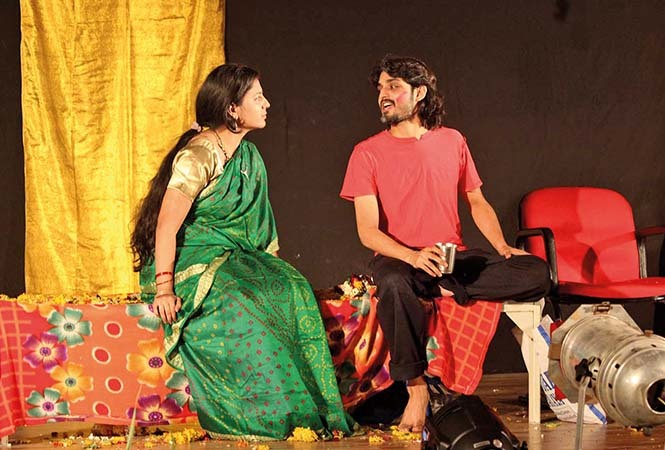 A scene from the play Gandhojale (BCCL/ Arvind Kumar)