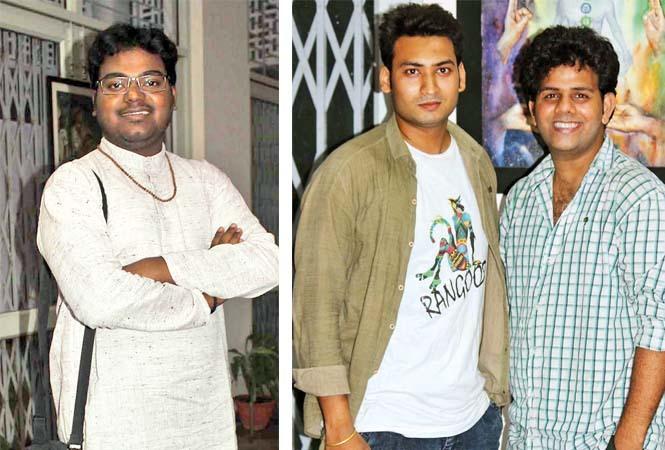 (L) Saurabh Chakraborty (R) Sumit and Gunjan Shukla (BCCL/ Arvind Kumar)