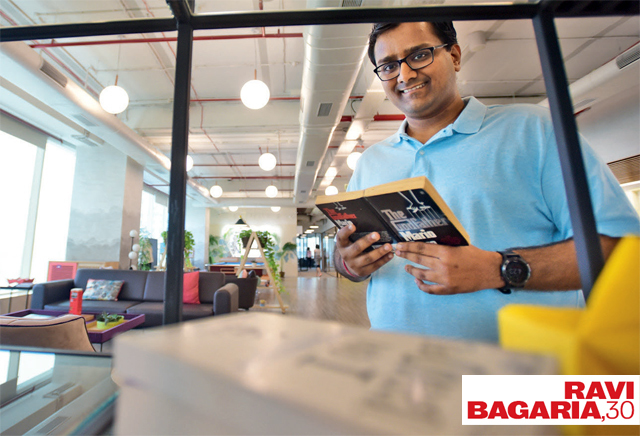 Bagaria, a chartered accountant based in Mumbai, has issues with the ethics of big companies (PHOTO BY SATISH MALAVADE)