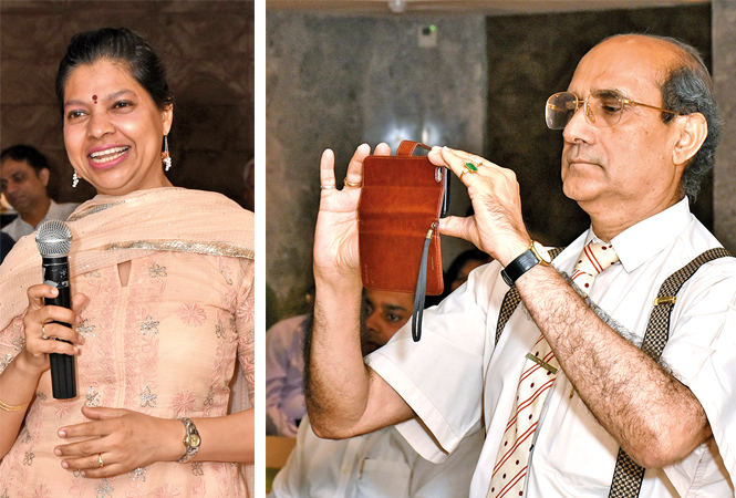 (L) Beena Krishna (R) Anees Anshari (BCCL/ Vishnu Jaiswal)