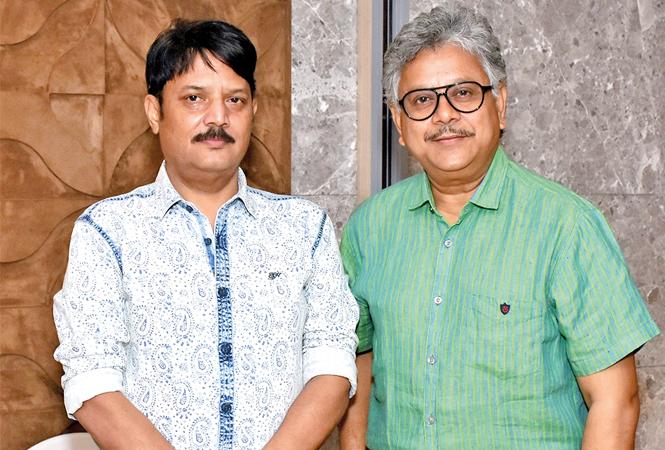 Ajaish Jaiswal (L) and Anil Risal Singh (BCCL/ Vishnu Jaiswal)
