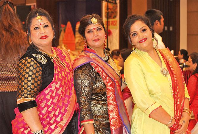 Harsha, Rosani and Sangeeta (BCCL/ Arvind Kumar)