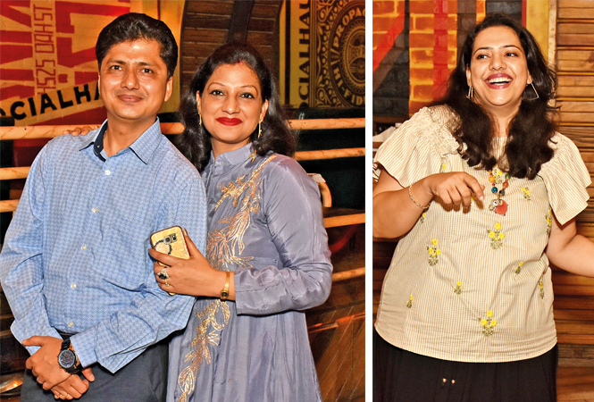 Adesh and Ruchi and Sonia Mittal (BCCL/ Vishnu Jaiswal)