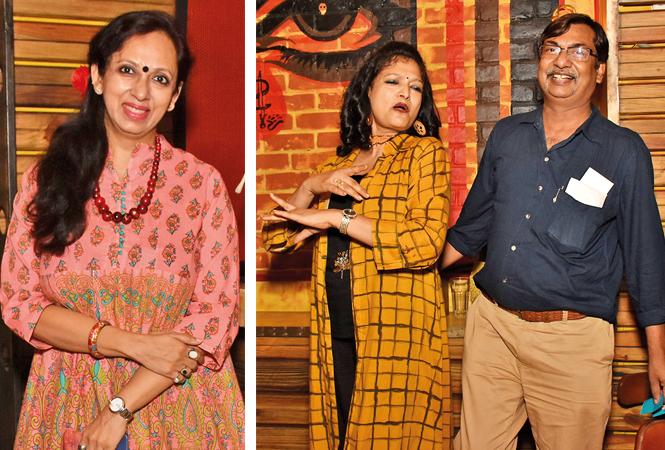 Gunjan Jain and Reena and Alok Agarwal (BCCL/ Vishnu Jaiswal)