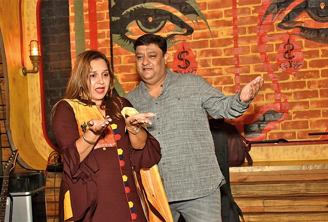 Namita & Chandan Gupta  (BCCL/ Vishnu Jaiswal)
