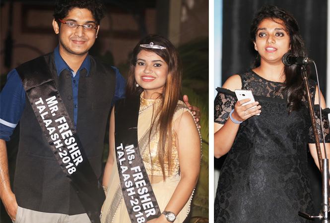 (L) Aishwarya Singh and Shubhi Sinha (R) Deeksha (BCCL/ Aditya Yadav)