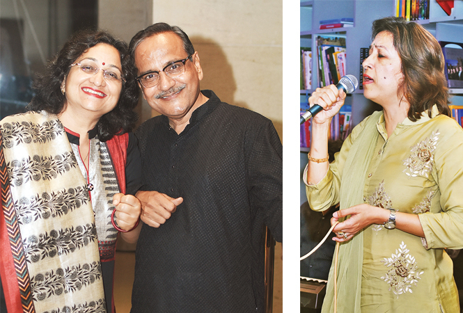 Deepti and Anoop Joshi (R) Manjula Hansraj (BCCL/ Farhan Ahmad Siddiqui)