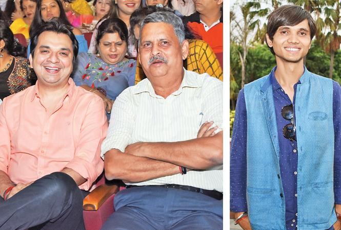 Gaurav Prakash and RK Chaturvedi (R) Privendra Singh (BCCL/ Farhan Ahmad Siddiqui)
