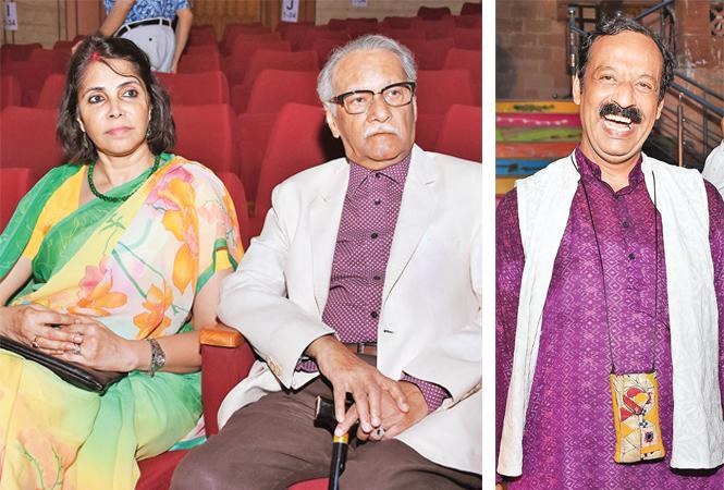Kanak Rekha Chauhan and Raj Bisaria (R) Rakesh Chandra (BCCL/ Farhan Ahmad Siddiqui)