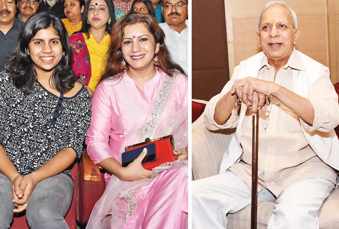 Shalmal and Malvika Hari Om (R) Raman Kumar (BCCL/ Farhan Ahmad Siddiqui)