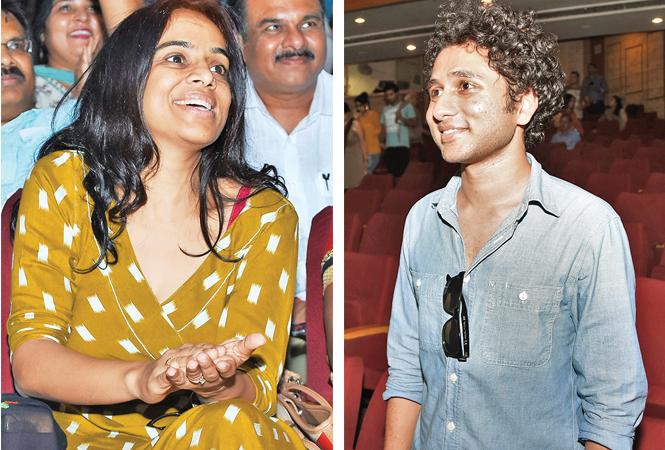 Vandita Samuel (R) Vikas Rawat (BCCL/ Farhan Ahmad Siddiqui)