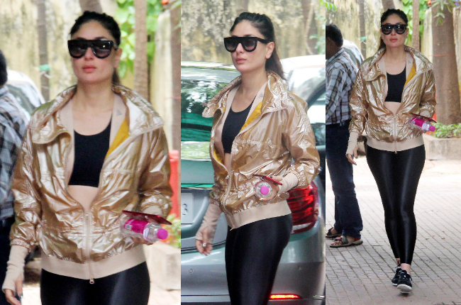 Kareena Kapoor's sexy workout clothes